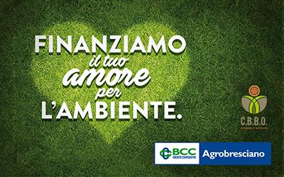 Finanziamo il tuo amore per l'ambiente.