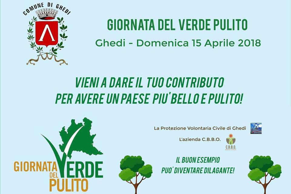 Giornata del Verde Pulito - Domenica 15 aprile, Ghedi
